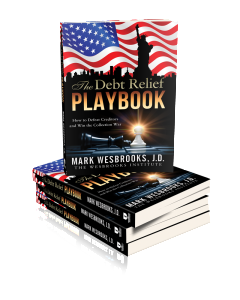 The Debt Relief Playbook - Author Mark Wesbrooks - Legal Playbooks