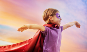 Family Law protection, like a superhero