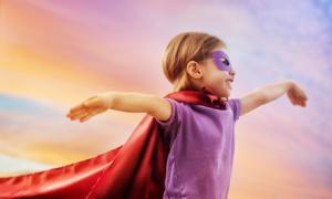 Family Law protection, like a superhero