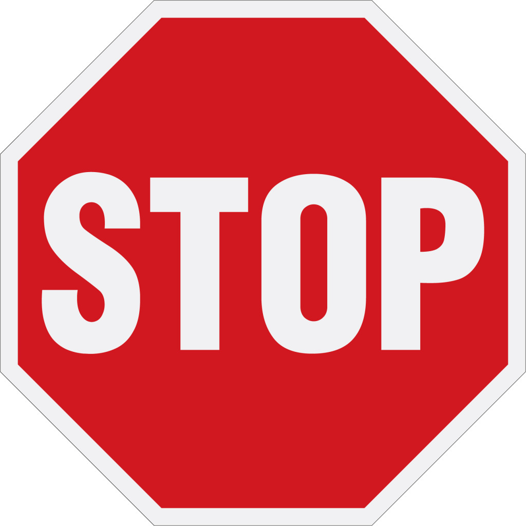 Bankruptcy STOP Sign
