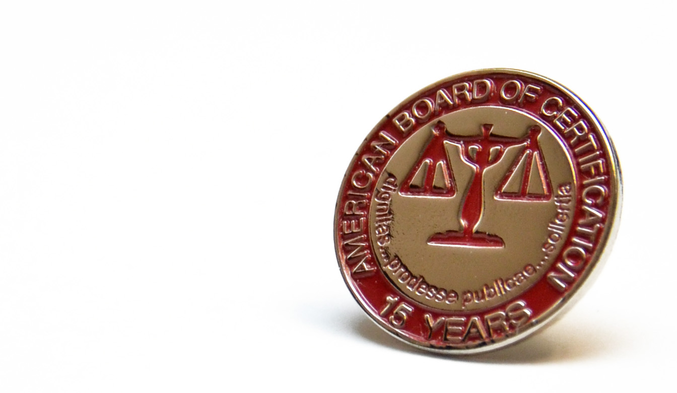 Creditors' Rights Law 15 Year Pin - Attorney, Mark Wesbrooks